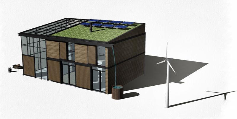 Energie solaire avec ecop solar - Maison autonome prix ...